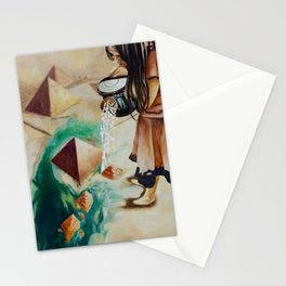 Foundations of Sand Stationery Cards