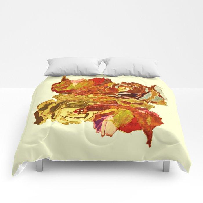 roses meli melo Comforters