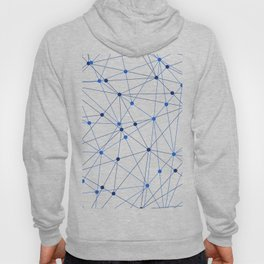 Network background. Connection concept. Hoody