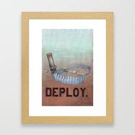 deploy Framed Art Print