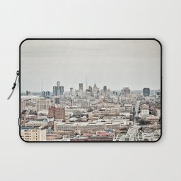Downtown Detroit Skyline View from New Center Laptop Sleeve