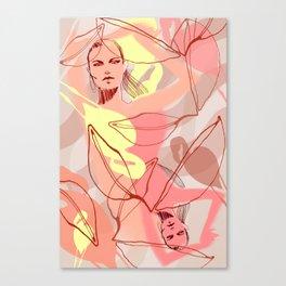 Flaming O's Canvas Print