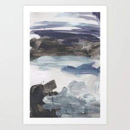 Number 79 abstract Landscape Art Print