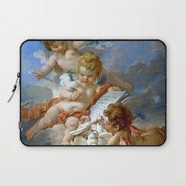 "François Boucher ""Cupids. Allegory of Poetry"" Laptop Sleeve"