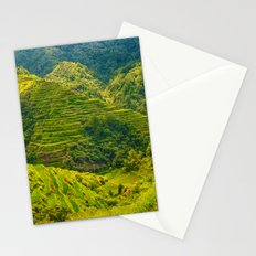 Banaue Rice Terraces Philippines Stationery Cards