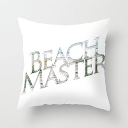 Beach Master Throw Pillow