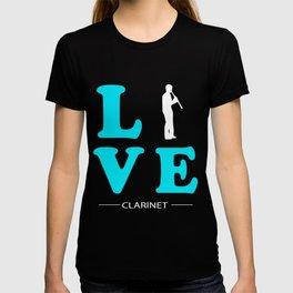 CLARINET LOVE T-shirt
