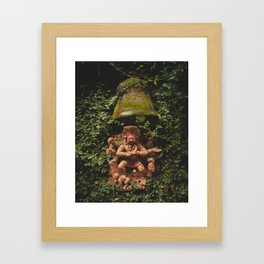 Exploring Kathmandu City, Nepal - 01 Framed Art Print