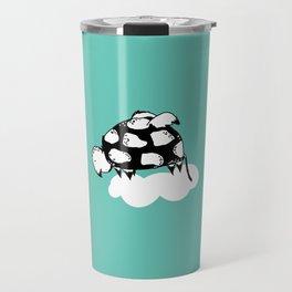 Flying Turtle by McKenna Sanderson Travel Mug