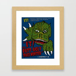 IT Butt Ugly Framed Art Print