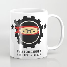 Programmer - Ninja Programmer Coffee Mug