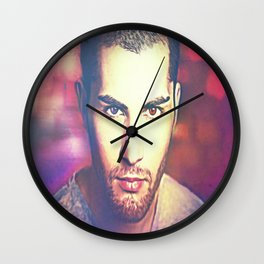 Nicky Davey Wall Clock