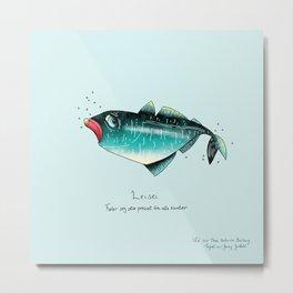 Triste dyr: Leisei Metal Print