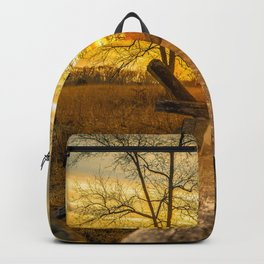 A Gettysburg Sunset Backpack