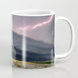 Steamroller - Storm Spans the Kansas Horizon Coffee Mug