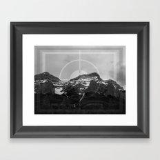 Peak Season Framed Art Print