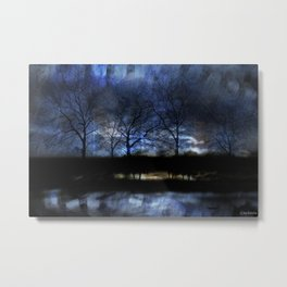 River of Darkness Metal Print