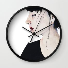 Pierced Wall Clock