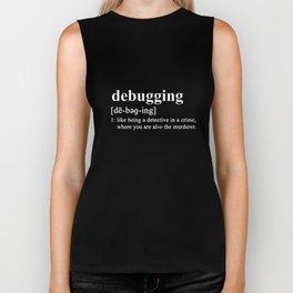 Debugging Dictionary Detective Murderer Coder Biker Tank