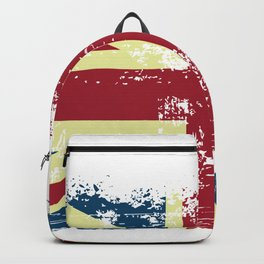 United Kingdom Grunge Flag Backpack
