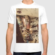 Chaotic Kitchen Mens Fitted Tee MEDIUM White