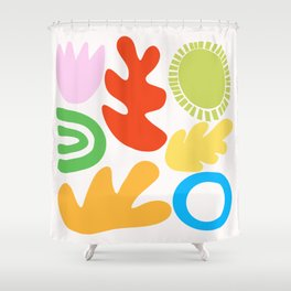 Collecting Happy Things no. 2 Shower Curtain