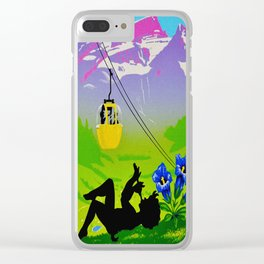 Diablerets Mountain Swiss Alps Travel Clear iPhone Case