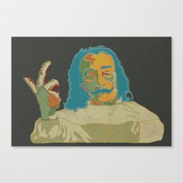 Salvador Dalí Canvas Print