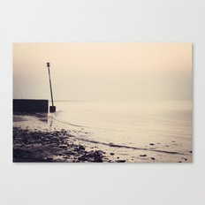 Golden Shoreline Canvas Print