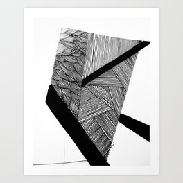 Flat Art Print