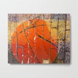 basket ball vs 2 Metal Print