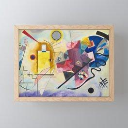 Kadinsky, Red Yellow Blue Framed Mini Art Print