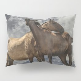 Montana Horses Pillow Sham