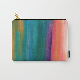 Abstract Acrylic Carry-All Pouch