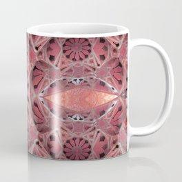 Aboriginal Power Portal in Earthy Pink and Peach Terracotta Coffee Mug