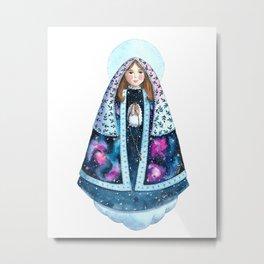 Virgin Mary of the Stars / Nossa Senhora das Estrelas Metal Print