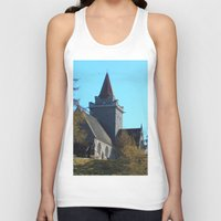 scotland Tank Tops featuring Crathie Church, Balmoral, Scotland by Phil Smyth