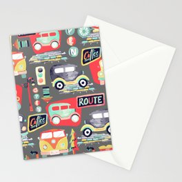 Travel Back in Time Stationery Cards