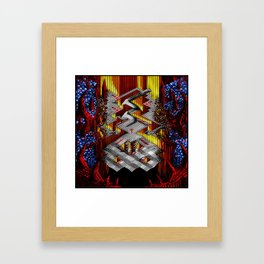 Marble Madness: Where Good Marbles Go To Die Framed Art Print