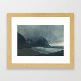 Hailstorm Framed Art Print