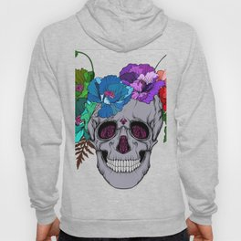 The Floral Skull Hoody
