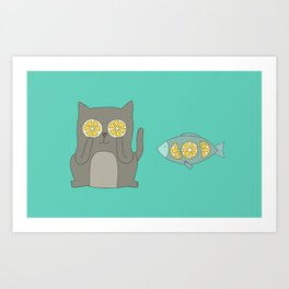 Friendship 1 Art Print
