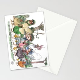 Marche of Poupoules Stationery Cards