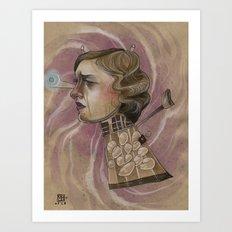 EXTERMINATE  Art Print