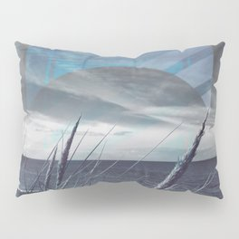 Before the Storm - blue graphic Pillow Sham