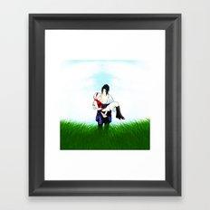 Love blossomed Framed Art Print