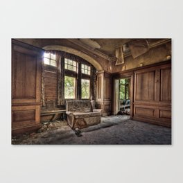 Entrance to Potters Canvas Print