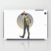 grantaire iPad Cases featuring Grantaire  by icarusdrunk