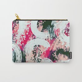 Scarlett abstract Carry-All Pouch