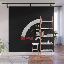 Mile away from war Wall Mural